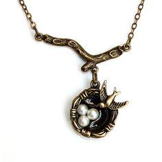 Fab.com | Mama Bird Necklace