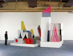 Thomas Scheibitz - Artists - Tanya Bonakdar Gallery Uta Barth, Olafur Eliasson, Installation Art, Sliders, Sculpture, Gallery, Artists, Art, Roof Rack