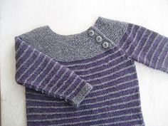 Ideas for baby crochet jumper libraries Knitting For Kids, Baby Knitting Patterns, Crochet For Kids, Free Knitting, Toddler Sweater, Knit Baby Sweaters, Crochet Jumper, Pull Bebe, Kids Patterns