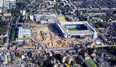 The Club's famous cockerel was raised proudly over the construction site as work on our new stadium continues to take shape. White Hart Lane, Tottenham Hotspur Fc, Paris Skyline, City Photo, Tower, 12 October, News, Building