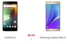 Phone Comparisons: OnePlus 2 vs Samsung Galaxy Note 5
