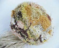 Ramo de bodas Escultura textil 2013 Majo Perrosa