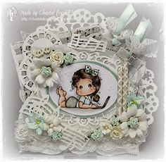 Cards made by Chantal: TFM #89 Shabby Chic or vintage