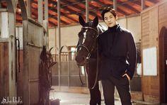 Horse & Kim Jae Won for SURE Magazine, october 2012 | http://pegasebuzz.com/leblog