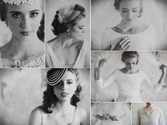 Ruche's soft and romantic bridal veils and accessories.