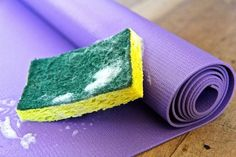 Three cleaning techniques to keep your yoga mat odorless and bacteria free. Yoga is a wonderful way to remove stress through encouraging meditation . Clean Yoga Mat, Yoga Iyengar, Yoga Mat Cleaner, Yoga Today, Popular Hobbies, My Yoga, Tea Tree Oil, Best Yoga, Yoga Meditation