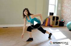 8-Minute Athletic Intervals Workout: This short and simple cardio workout that will elevate your heart rate to burn 80 calories in just 8 minutes! | via @SparkPeople #fitness #exercise #video