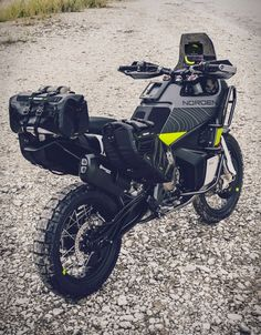 With the EICMA (Motorcycle Show hosted annually in Milan) in full swing, the world's motorcycle manufacturers are there to showcase their up and coming releases for the year ahead. Husqvarna have unveiled the extremely rad looking Norden u Moto Enduro, Enduro Motorcycle, Motorcycle Types, Motorcycle Travel, Motorcycle Design, Bike Design, Trail Motorcycle, Motorcycle Touring, Touring Bike