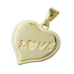 Dreambase Anhänger, Herz LOVE matt-glzd, 8Kt GOLD Dreambase http://www.amazon.de/dp/B014EIP5GC/?m=A37R2BYHN7XPNV