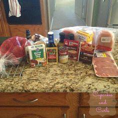 Cupcakes and Curls: Crock Pot Freezer Meals - Part 1