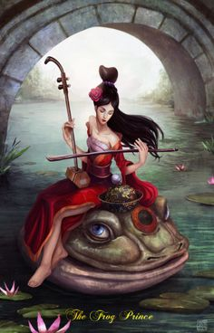 Frog Prince by Ben Ho - Reimagined Fairy Tale Illustrations