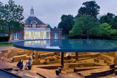 2012 Serpentine Gallery Pavillion | Kensington Gardens,London | Herzog & de Meuron & Chinese artist Ai Weiwei | photo Iwan Baan