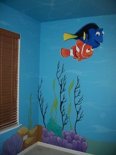 ocean ceiling murals for kids rooms - Google Search
