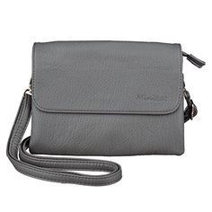 New Trending Cross Body Bags: MINICAT Roomy Pockets Series Small Crossbody Cell Phone Purse Wallet Bag (Gray-cross). MINICAT Roomy Pockets Series Small Crossbody Cell Phone Purse Wallet Bag (Gray-cross)  Special Offer: $18.99  444 Reviews MINICAT was a register Brand at USA and Amazon. MINICAT cross body cellphone bag is not just a place to store your stuff which is a fashion accessory that speaks...