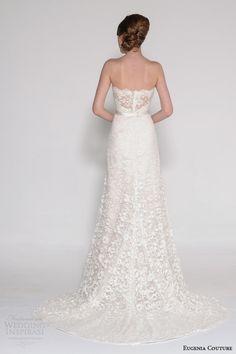 eugenia couture bridal spring 2016 phoebe strapless sweetheart wedding dress illusion back