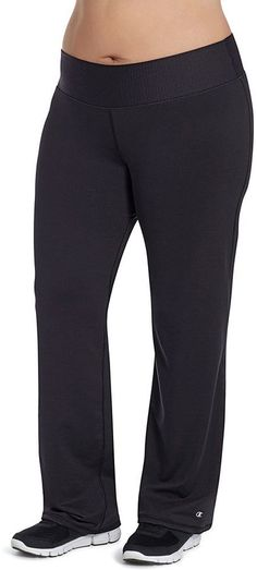 Plus Size Champion Absolute Workout Semi-Fitted Performance Pants *** Click image for more details.