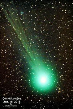 Comet Lovejoy C/2014 Q2 by Parks Squyres on January 16, 2015 @ SaddleBrooke, Arizona