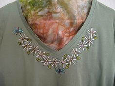 Learn embroidery placement create a fresh t shirt sewing