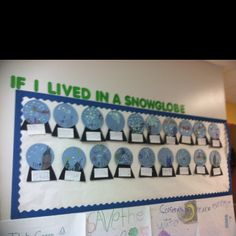 Winter / Writing Bulletin Board Idea