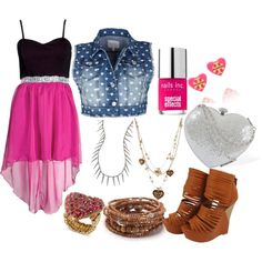 """""""Cute Date"""" by allyclaire on Polyvore"""