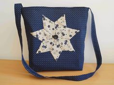 Deshilachado: Tutorial: bolso estrella paper piecing / Paper piecing star bag