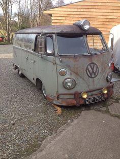 T1 VW Panel bus vintage