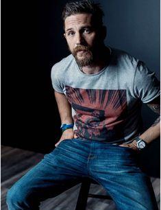 Tom Hardy tho #handsome #hot #sexy #celebrity #hunk
