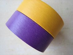 Washi Tape  Double Roll  Solid Color  Purple and by HazalsBazaar, $6.00