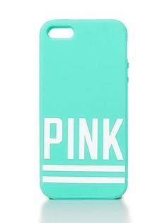 VS PINK Soft iPhone® 4/4S/5 Case in Teal
