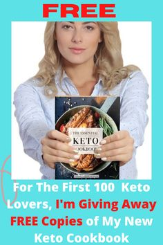 I send FREE copies of my latest Keto Cookbook to the first 100 Keto lovers. Enjoy this Bread Plus 100 + Other Tasty Keto Recipes! The Indispensable Keto cookbook of more than 100 Keto recipes for tea, salads, entertainments, sweets, beverages and snacks. Net carbohydrate, fat , protein and calorie count for-recipe. Enjoy the Fluffy Breakfast Porridge, Buffalo Wings, Mini Burgers, Cornbread Jalapeño, Tacos Chicken, Shrimp Popcorn, and many more recipes. #keto #ketodiet #ketodietplan #..