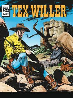 Tex Willer -lehti no 8/2012. #egmont #sarjakuva #sarjis #sarjakuvalehti