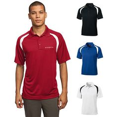 Promotional Sport-Tek¨ Dry Zone¨ Colorblock Raglan Polo Shirt (Q715311)