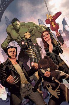 Avengers Assemble Vol.2 #25 by Jorge Molina *