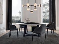 CONCORDE Tavolo in marmo Collezione Concorde by Poliform design Emmanuel Gallina