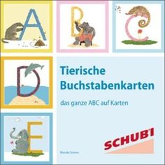 Tierische Buchstabenkarten: Westermann Verlag