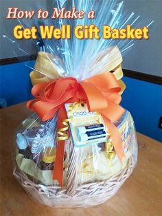 Have you ever wanted to do something special for someone who was feeling ill, but didn't know how to help? This get well gift basket is the perfect DIY gift.