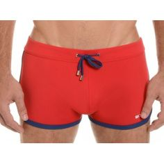 #2xist Jogger Cabo #Swim #Trunk Salsa Red/ Estate Blue