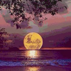 - it's mindblowing - Full Moon landing. Beautiful Sunset, Beautiful World, Beautiful Images, Pretty Images, Beautiful Gifts, Beautiful Scenery, Simply Beautiful, Shoot The Moon, Super Moon