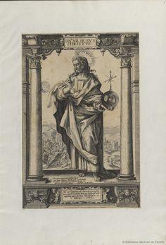 [Cristo y los apóstoles]. Anónimo s. XVI-XVII — Grabado — 1580-1630?