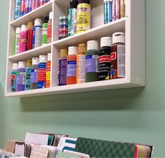 Craft Paint and more storage from OrganizeMore!
