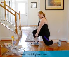 Mom and Baby Workout Tips to help you look and feel your best after baby Baby Workout, Pregnancy Workout, Workout Tips, Pregnancy Months, Plus Size Pregnancy, Fit Pregnancy, At Home Workouts, Fitness Workouts, Plus Size Workout