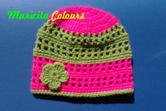 Baby Beanie Hat by Maricita Colours in YOUTUBE!