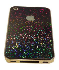 Rainbow glitter phone case!