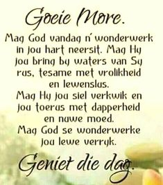 Good Night Quotes, Good Morning Good Night, Good Morning Wishes, Morning Prayers, Morning Messages, Uplifting Christian Quotes, Evening Greetings, Monday Blessings, Afrikaanse Quotes