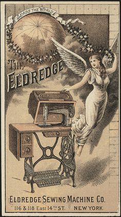 Vintage Labels, Vintage Ephemera, Vintage Ads, Vintage Posters, Graphics Vintage, Vintage Type, Sewing Machines Best, Antique Sewing Machines, Sewing Cards