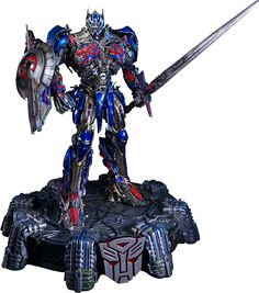 From Sideshow Collectibles and Prime 1 Studio, Optimus Prime.