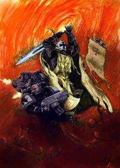 Warhammer 40000,warhammer40000, warhammer40k, warhammer 40k, ваха, сорокотысячник,фэндомы,Black Templars,Чёрные Храмовники,Space Marine,Adeptus Astartes,Imperium,Империум,khorne,Chaos (Wh 40000)