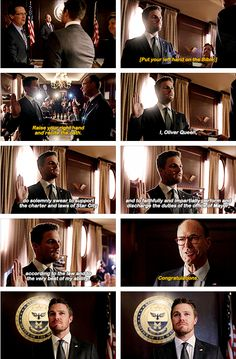 Arrow - Oliver Queen #4.23 #Season4 Supergirl Dc, Supergirl And Flash, Arrow Season 4, Arrow Oliver, Dc Legends Of Tomorrow, Flash Arrow, Left Handed, Dumb And Dumber, Tv Shows