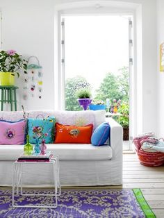 Splashes Of The Perfect Color...The Power of Color...Interior Design