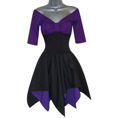 Sea Witch Gothic Dress Costume (UK 10) (US 6) (EUR 38) Ladies Womens... ($58) ❤ liked on Polyvore featuring costumes, gothic halloween costumes, womens halloween costumes, ladies halloween costumes, womens costumes and lady costumes